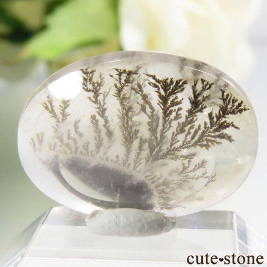 ブラジル産 デンドリティッククォーツのルース 7.3ctの写真1 cute stone
