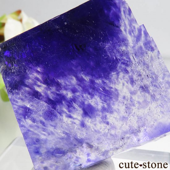 ドイツ産 パープルハライトの結晶(原石) 26gの写真3 cute stone