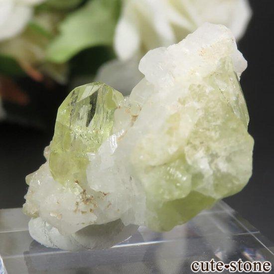 ブラジル Linopolis産 ブラジリアナイトの母岩付き結晶 6.2gの写真3 cute stone