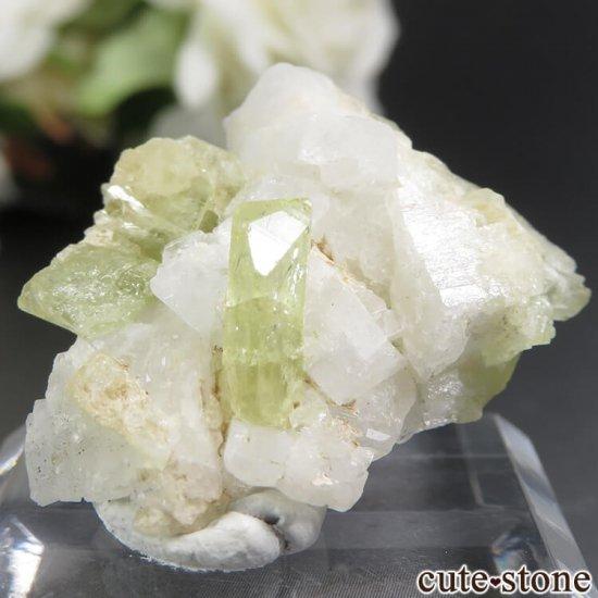 ブラジル Linopolis産 ブラジリアナイトの母岩付き結晶 6.2gの写真4 cute stone
