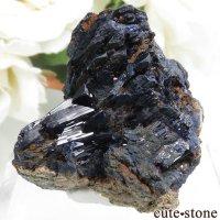 モロッコ Touissit産アズライトの母岩付き結晶(原石) 18.4gの画像