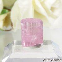 アフガニスタン産 ピンクトルマリンの結晶(原石)4.2ctの画像