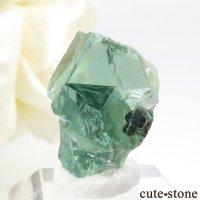 イングランド Rogerley Mine産 蛍光フローライトの結晶(原石)2.2gの画像