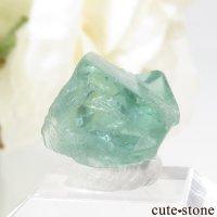 イングランド Rogerley Mine産 蛍光フローライトの結晶(原石)1.3gの画像