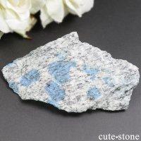 パキスタン スカルドゥ産K2アズライトの原石(ラフ)44gの画像