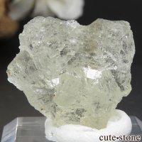 フランス Fontsante Mine産 ライトイエローフローライトの結晶(原石)7.2gの画像