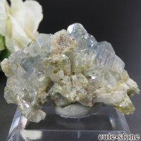 ブラジル産 ユークレースの母岩付き結晶(原石) 33.5gの画像