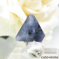 カリフォルニア産 ベニトアイトの母岩付き結晶(原石) 0.5gの画像