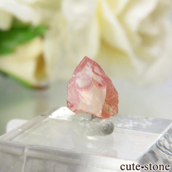 【4周年記念】 南アフリカ N'Chwaning I Mine産 ロードクロサイトの結晶(原石)No.22の写真1 cute stone