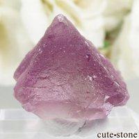 アメリカ ニューメキシコ州 Surprise Mine産 パープル×グリーンフローライトの結晶(原石) 7.1gの画像