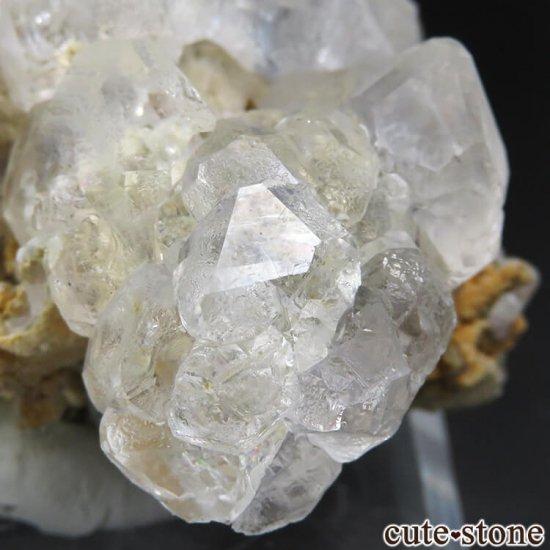 ロシア ダルネゴルスク産 カラーレスフローライトの母岩付き結晶(原石) 188gの写真7 cute stone
