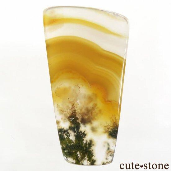 インドネシア産 アイリス&モスアゲートのスライス 4.1gの写真0 cute stone