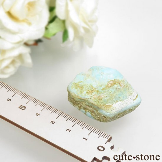 イラン産 天然ターコイズの原石 22gの写真1 cute stone