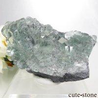 中国 Xianghualing Mine産 グリーンフローライトの結晶 127.3gの画像