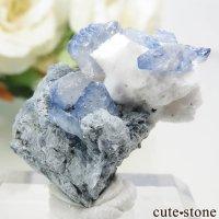 カリフォルニア産 ベニトアイトの母岩付き結晶(原石) 4.6gの画像