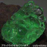 メキシコ Villa Garcia Municipality産 ハイアライト(オパール)の母岩付き結晶(原石)28.2gの画像