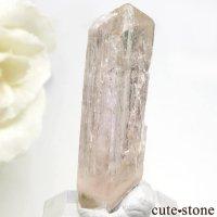 パキスタン カットラン産 ピンクトパーズ (インペリアルトパーズ)の結晶 (原石) 3gの画像