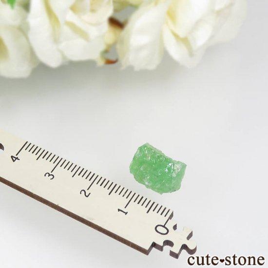 タンザニア産 ツァボライトの結晶(原石) 7.5ctの写真3 cute stone