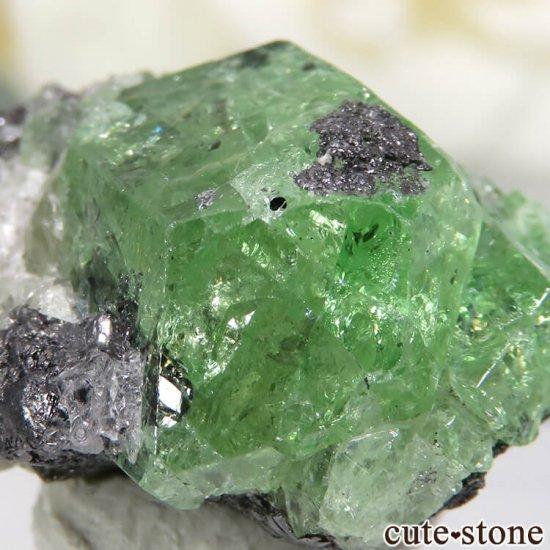 タンザニア産 ツァボライトの結晶(原石) 23.4ct
