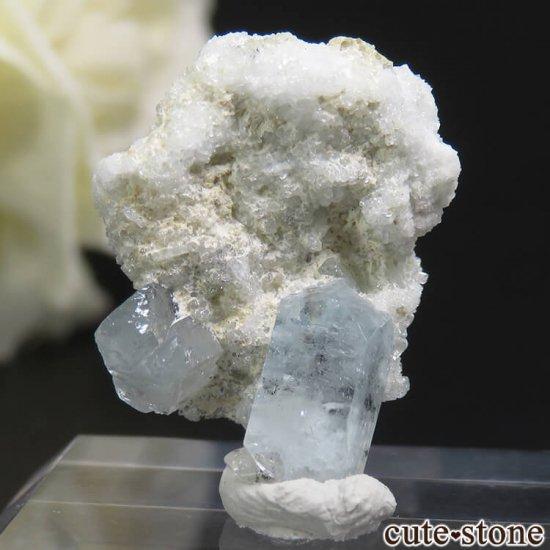 ナミビア エロンゴ産 ブルートパーズの結晶(原石)3.7g