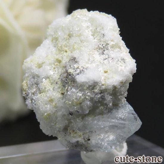 ナミビア エロンゴ産 ブルートパーズの結晶(原石)3.7gの写真1 cute stone