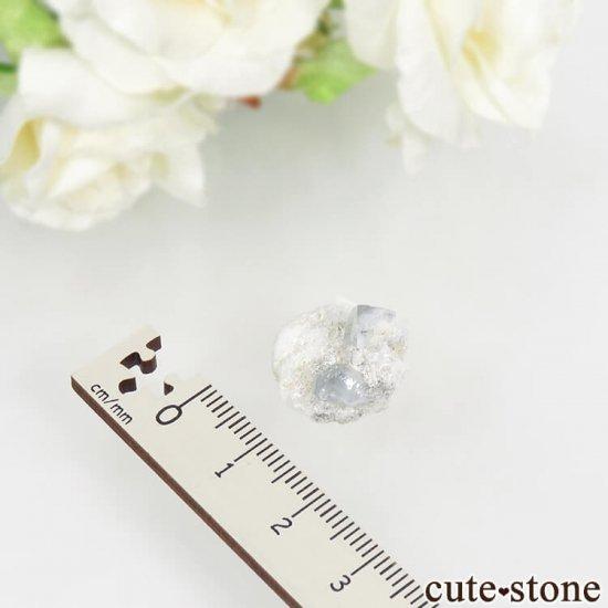 ナミビア エロンゴ産 ブルートパーズの結晶(原石)3.7gの写真3 cute stone