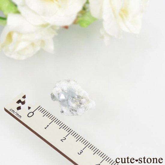 ナミビア エロンゴ産 ブルートパーズの結晶(原石)4.3gの写真3 cute stone