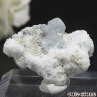 ナミビア エロンゴ産 ブルートパーズの結晶(原石)4.3gの画像