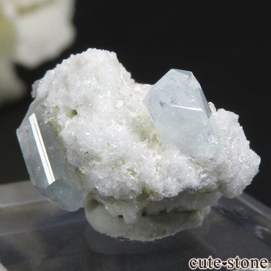 ナミビア エロンゴ産 ブルートパーズの結晶(原石)3.4gの写真0 cute stone