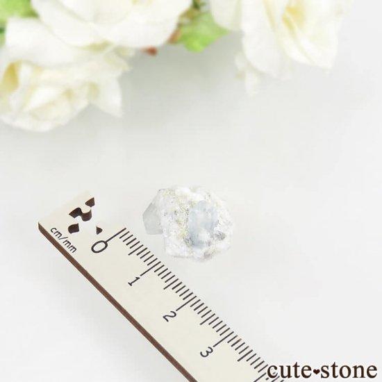 ナミビア エロンゴ産 ブルートパーズの結晶(原石)3.4gの写真5 cute stone