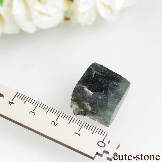中国 内モンゴル産 針状結晶入りフローライト 9.9gの写真2 cute stone