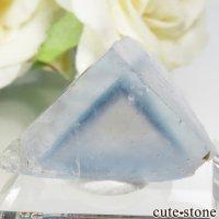 フランス La Barre Mine産 ブルー×イエローフローライトの結晶(原石) 6.6gの画像