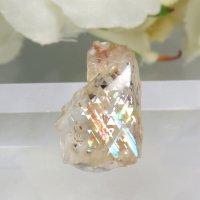 レインボーラティスサンストーンのスライス(原石)0.3gの画像