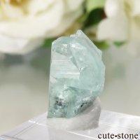 フォスフォフィライトの結晶 1.8ct(日独宝石研究所 鑑別書付き)の画像