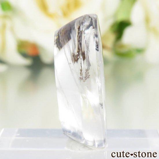 ブラジル産 デンドリティッククォーツのルース 12.6ctの写真0 cute stone