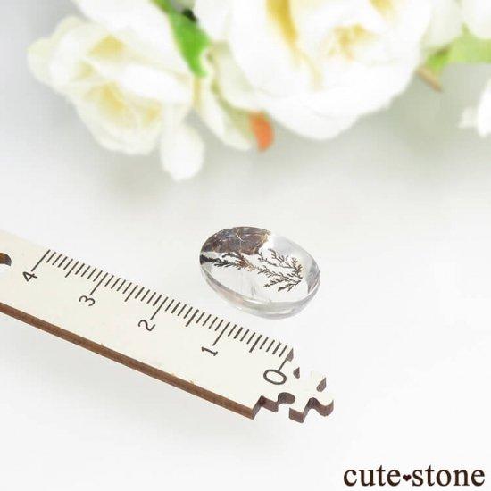 ブラジル産 デンドリティッククォーツのルース 12.6ctの写真3 cute stone