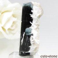 パキスタン スカルドゥ産 ブルートルマリンの結晶 7.2gの画像