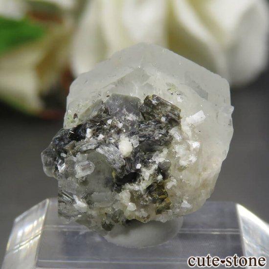 コロラド産 フェナカイトの単体結晶(原石) 2.5gの写真1 cute stone