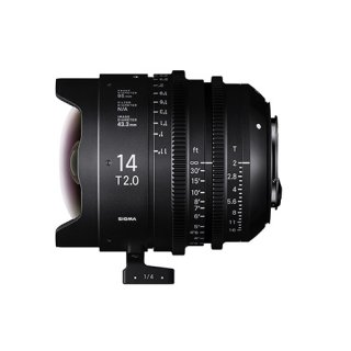 SIGMA FF High Speed Prime Line 14mm T2 FF (EFマウント)