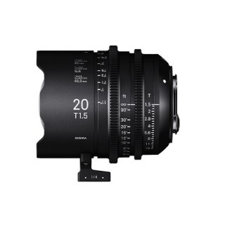 SIGMA FF High Speed Prime Line 20mm T1.5 FF (EFマウント)