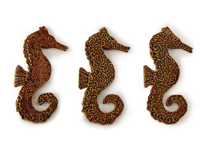 幸運のシンボル・Fabulous Sea Horse Tile