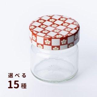 九谷焼ジャーキャップ×225クリアびん【選べる15種】
