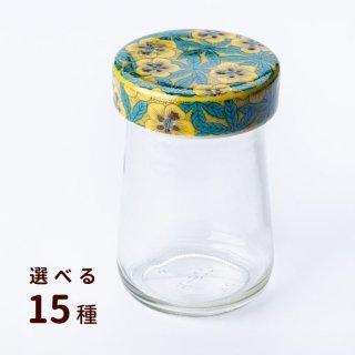 九谷焼ジャーキャップ×500クリアびん【選べる15種】