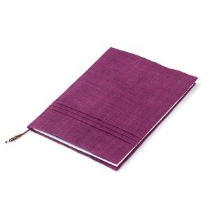 ノートカバー(B5大学ノートサイズ) 赤紫