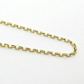 K18イエローゴールド アズキ「小豆」ブレスレット 18cm 1.7mm