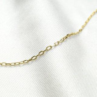 K18イエローゴールド アズキ「小豆」ブレスレット 18cm 1.0mm