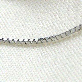 Pt850 プラチナ ベネチアンチェーン 40cm 1.0mm