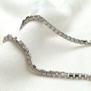 Pt850 プラチナ ベネチアンチェーン 45cm 1.4mm