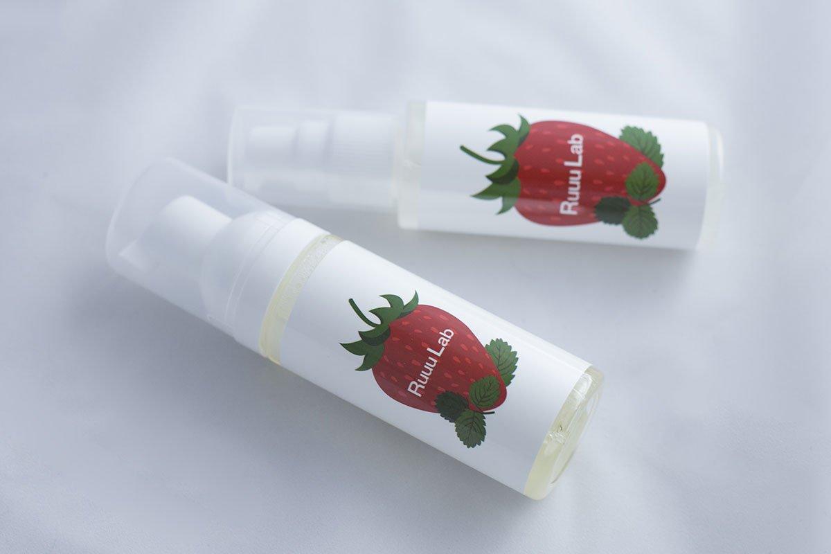 Ruuu Lab 洗顔フォームミニボトル