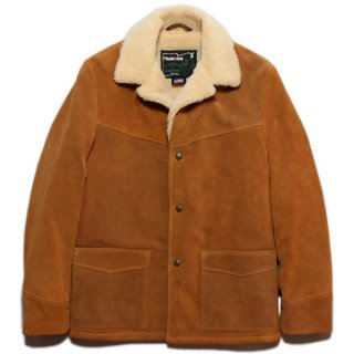 Schott 359US COW SPILIT RANCHER JACKET PILE LINING - LIGHT BROWN